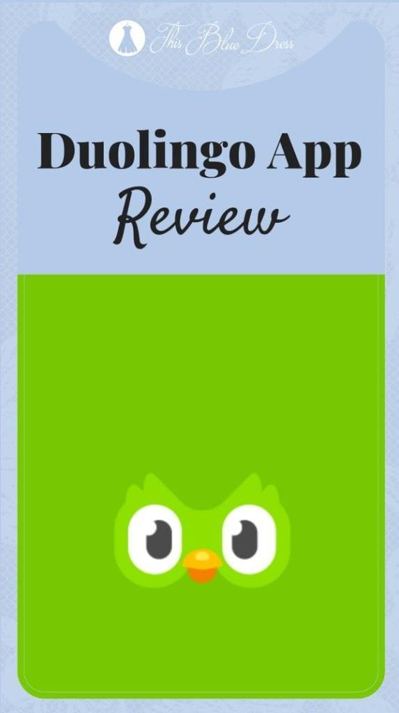 pin the duolingo app review