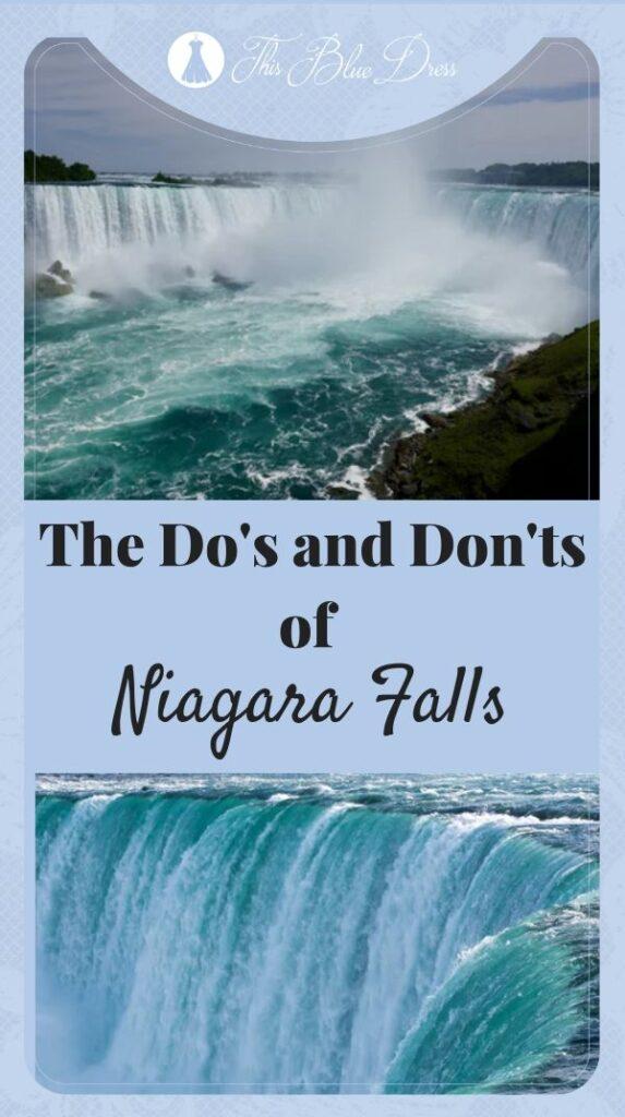 pin niagara falls post