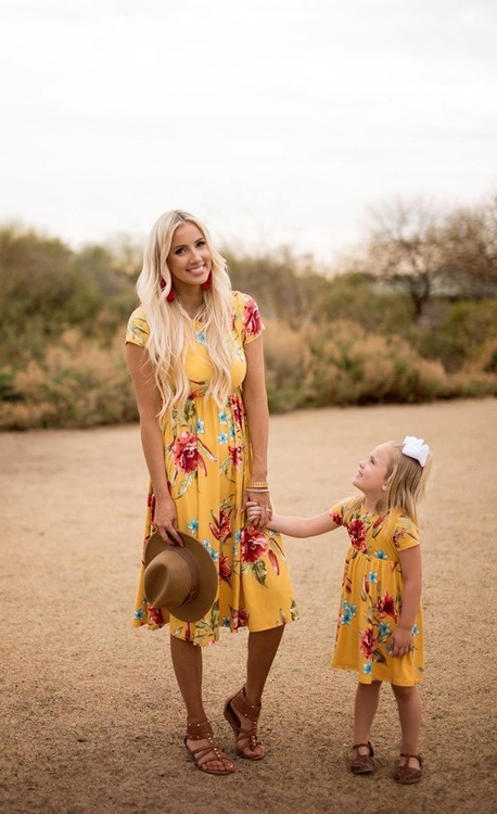 Mommy and Me spring dresses