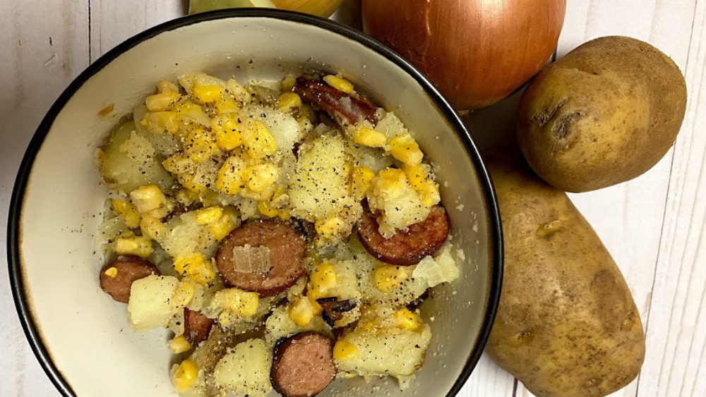 Easy Potato Succotash