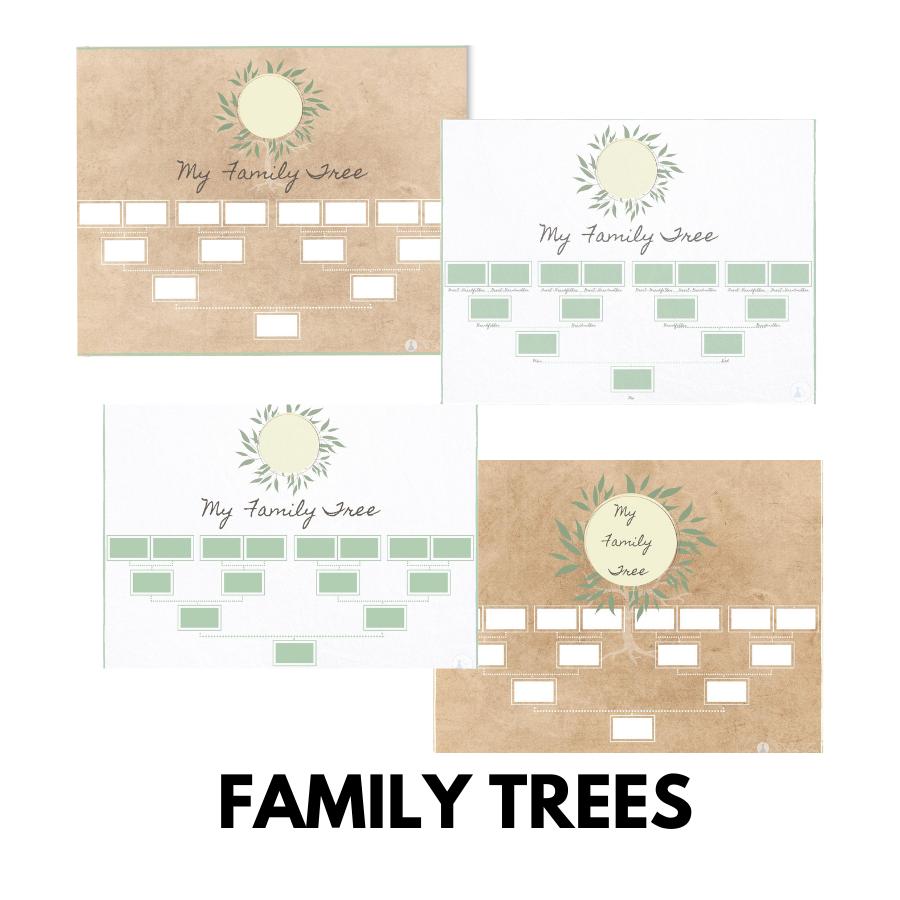 Family Trees Printables