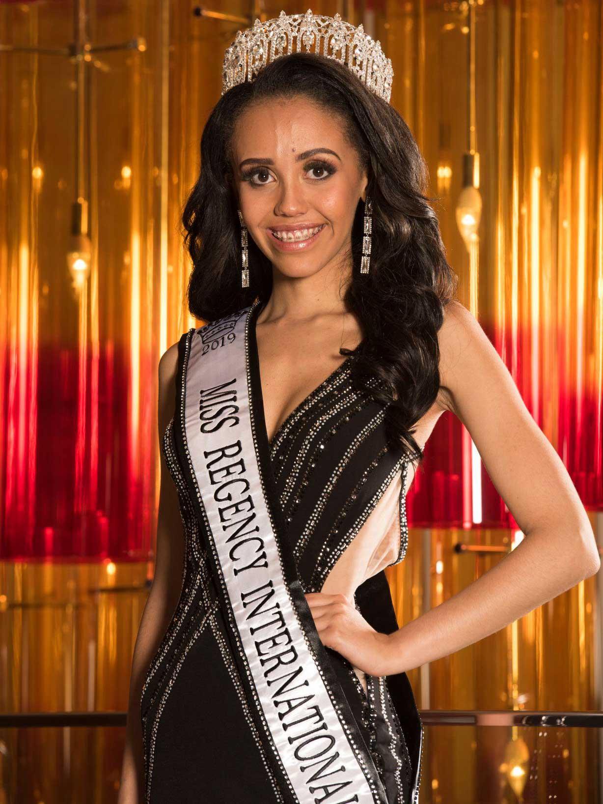 Miss Regency International 2019-2020 Sofia Mayers
