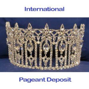 International Pageant Deposit