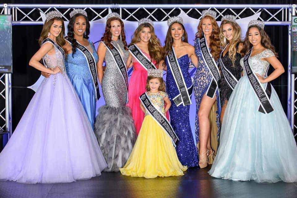 Regency International Pageant, Beauty Pageant for Women of all ages.