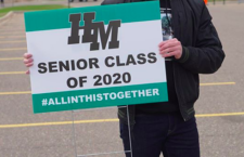 Hill-Murray School Honors Seniors With Yard Signs