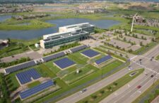 Great River Energy headquarters in Maple Grove, MN utilizes 100% green energy.