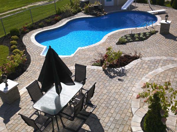 aménagement piscine st-hilaire