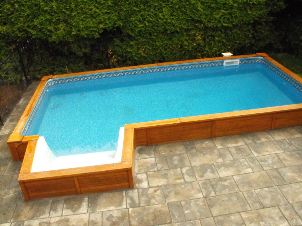 piscine pavé uni mondrian de Permacon