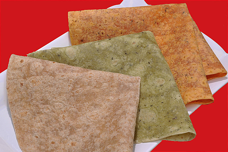 Choice of Flavored Tortilla