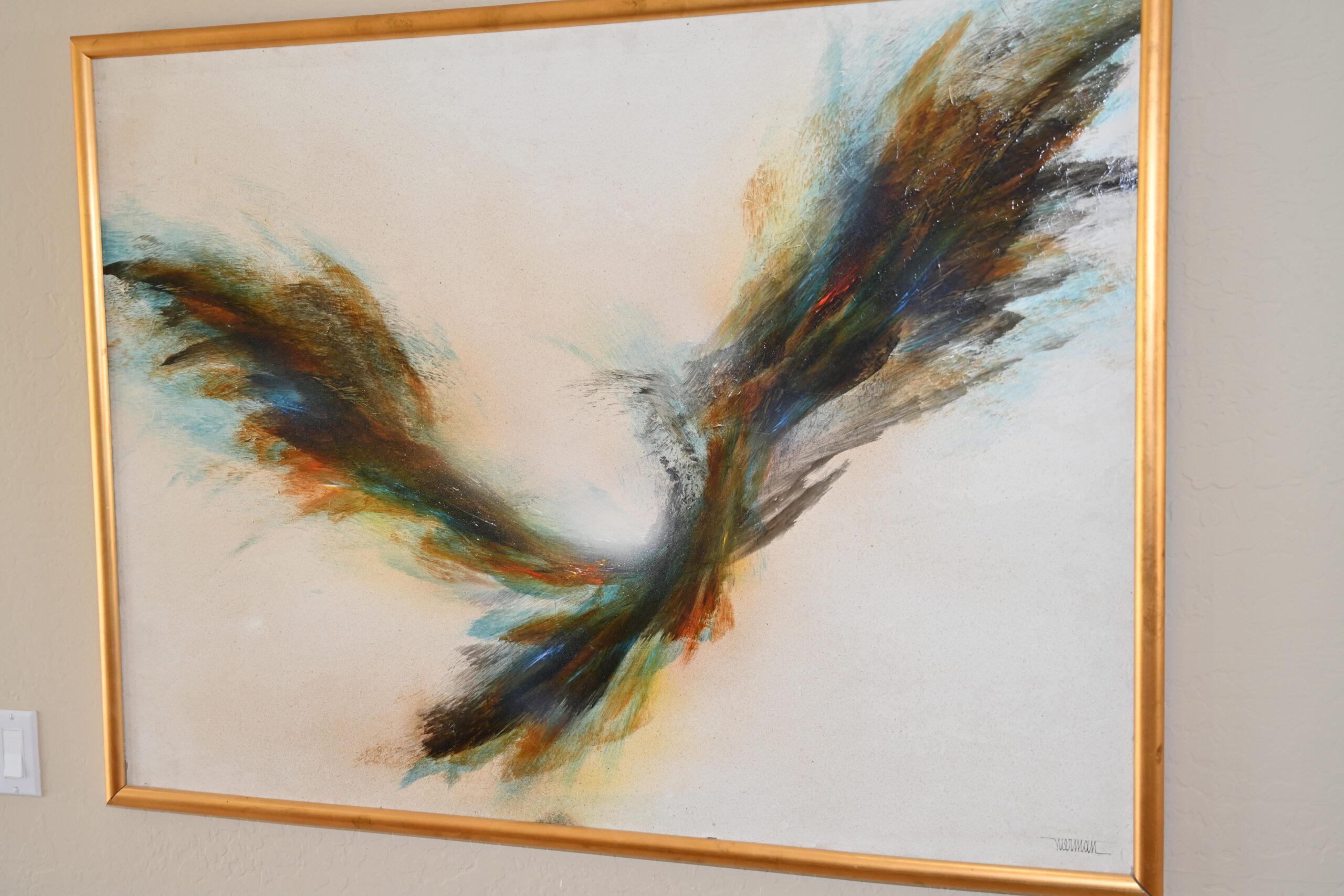 Original Acrylic Painting by Leonardo Nierman