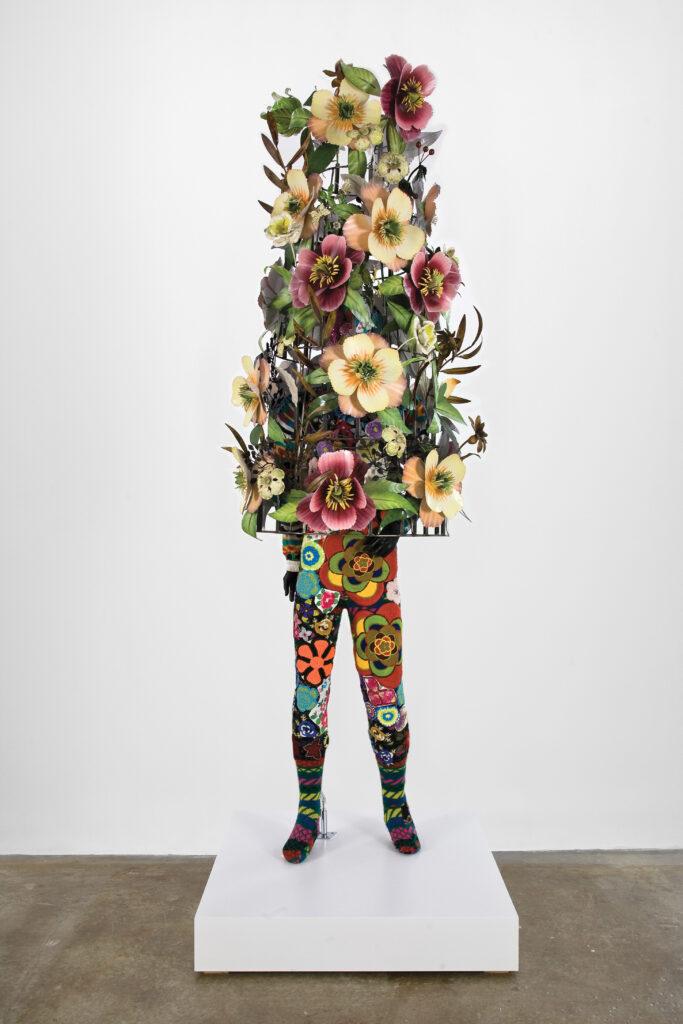 Nick Cave. Soundsuit, 2008. Courtesy of Rubell Family Collection, Miami. © Nick Cave. Courtesy of the artist and Jack Shainman Gallery, New York. Photo by James Prinz Photography