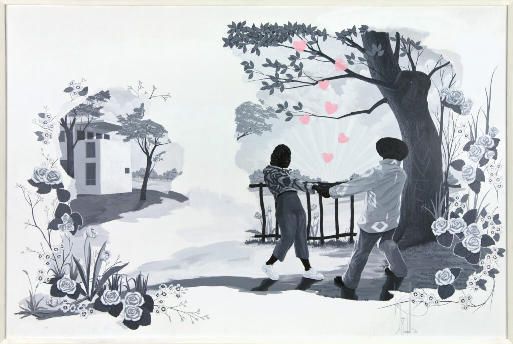 Kerry James Marshall. Vignette #10, 2007. Courtesy of Rubell Family Collection, Miami. © Kerry James Marshall. Courtesy of the artist and Jack Shainman Gallery, New York