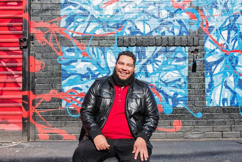 Miguel Andrade. Photo by Heather McBride.