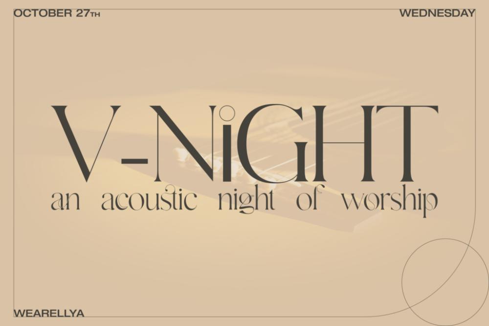 Acoustic V-Night Advertisement