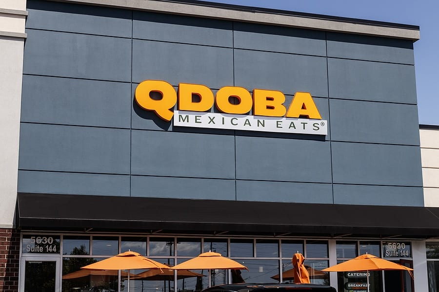QDOBA Mexican Eats Trading Kisses - This Valentine's Day