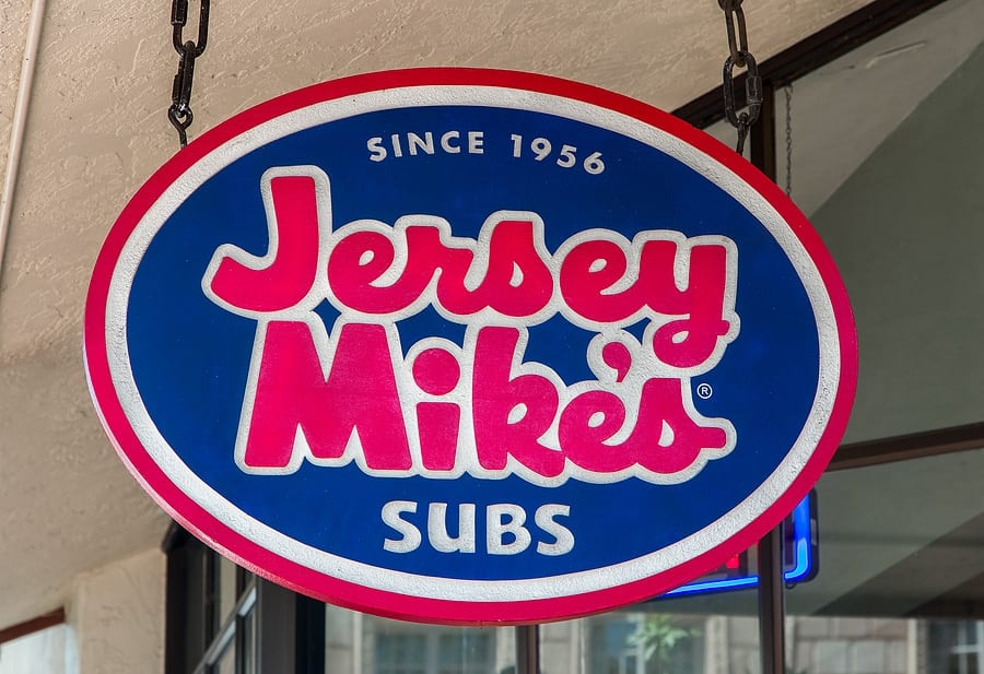 On Wednesday: Jersey Mike's Donates ALL Sales to Local Charities
