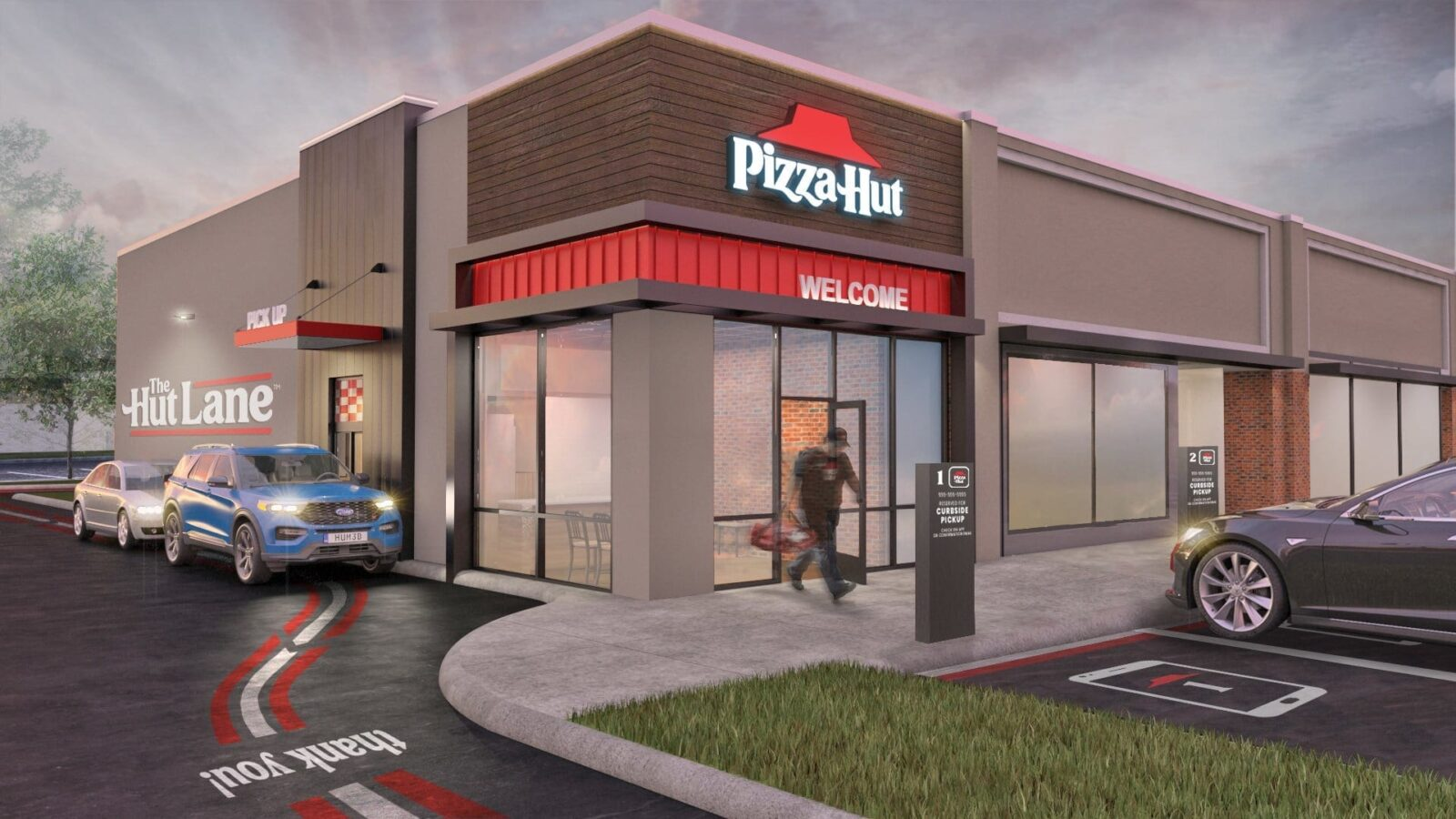 Pizza Hut Launches The Hut Lane – A Digital-First Carryout Option