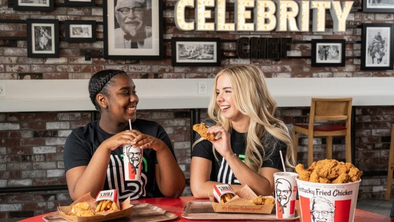 KFC Donates Cash for Meals and Support Youth Mentorship