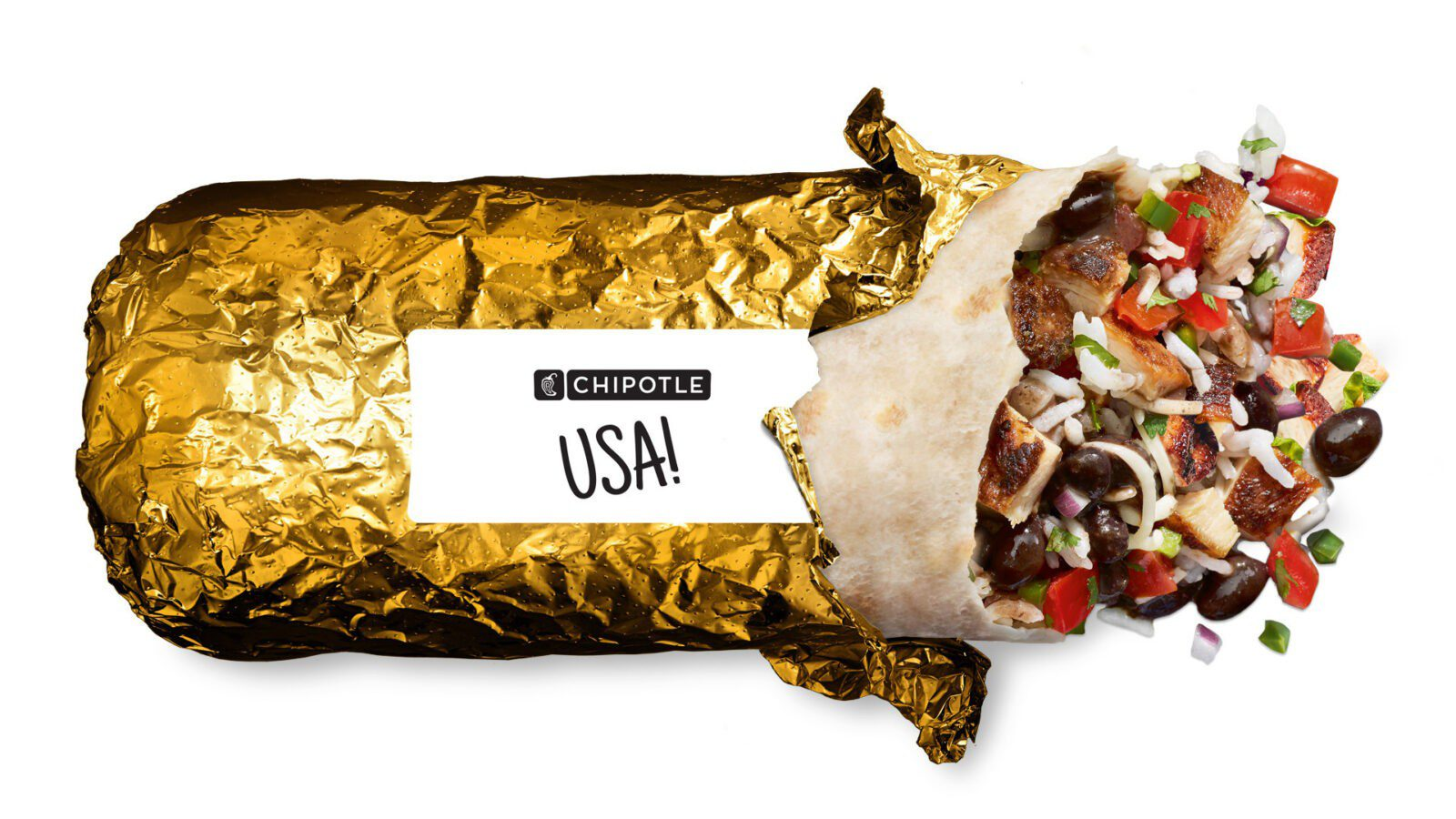 Chipotle Rolls Out Gold Foil - Celebrate American Athletes In Tokyo