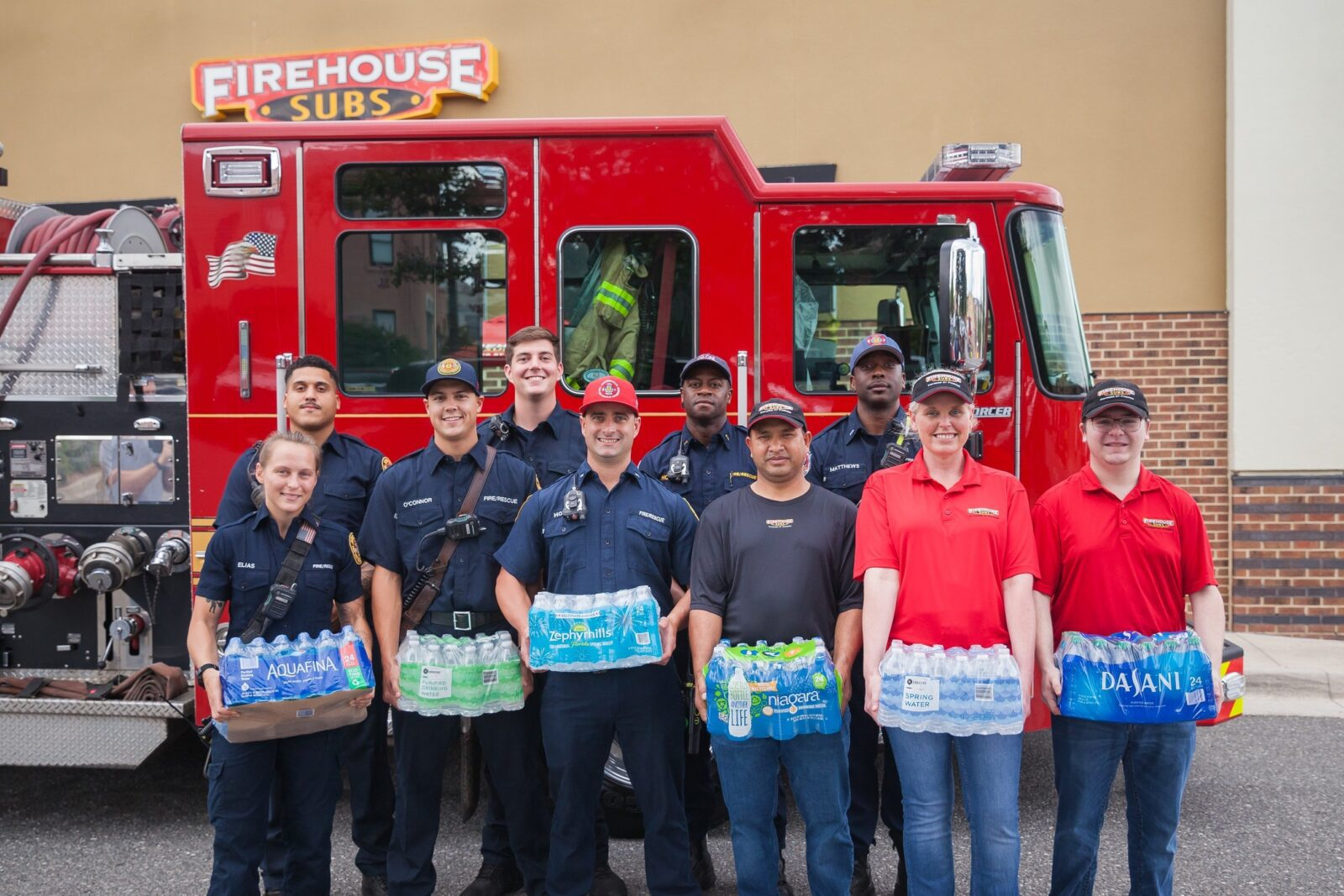 Firehouse Subs – Annual H2O for Heroes