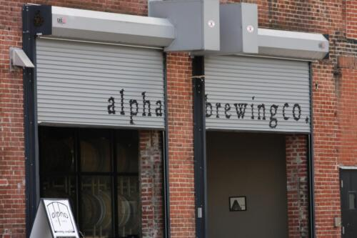 Alpha Brewing located on Washington Street in St. Louis, MO