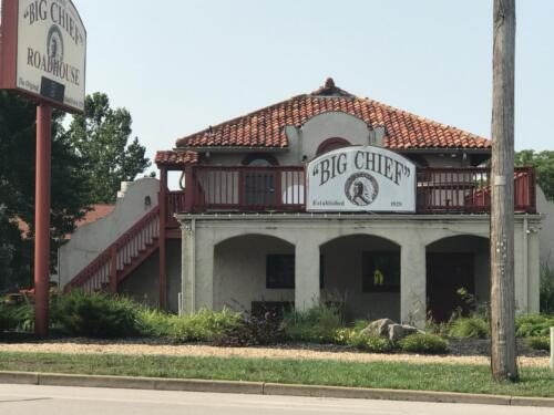 Big Chief Roadhouse in Wildwood, MO - Another historic location recognized by the US Department of Interior.