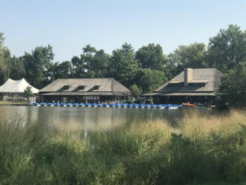 Boathouse at Forest-Park