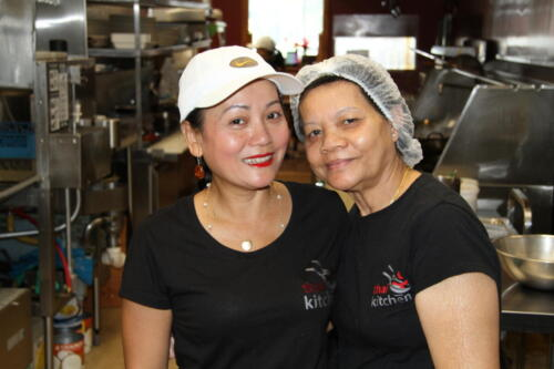 Thai Kitchen Founder Andie and her mother, Kularb, a.k.a. Rose