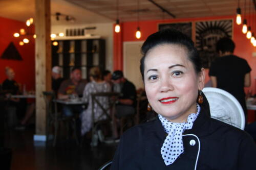 The founder of Thai Kitchen, Andie welcomes you to the Wentzville location.