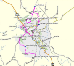 Route 100 – Victory Heights to Jones Hill Afternoon School Service
