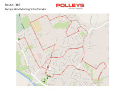 Route 369 – Gympie West Morning School Service