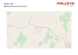 Route 437 – Kilkivan Morning School Service