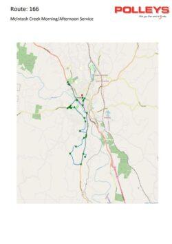 Route 166 – McIntosh Creek Morning School Service