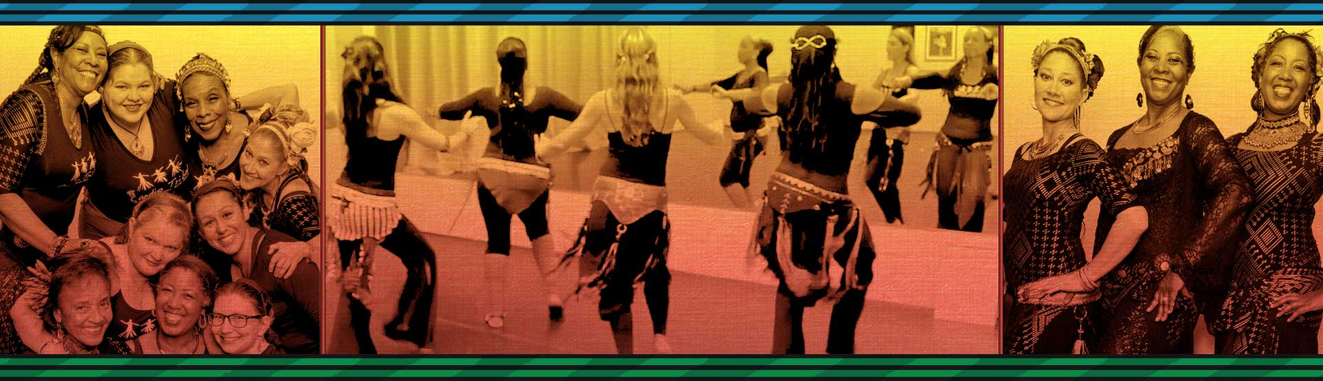 Cardio Tribal Style Belly Dance with Robin Johnson | Zaltana Transcultural Fusion Dancers