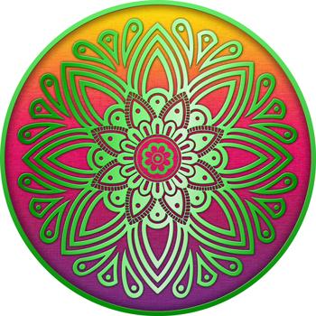 Middle Eastern Circular Mandala Design | About Zaltana