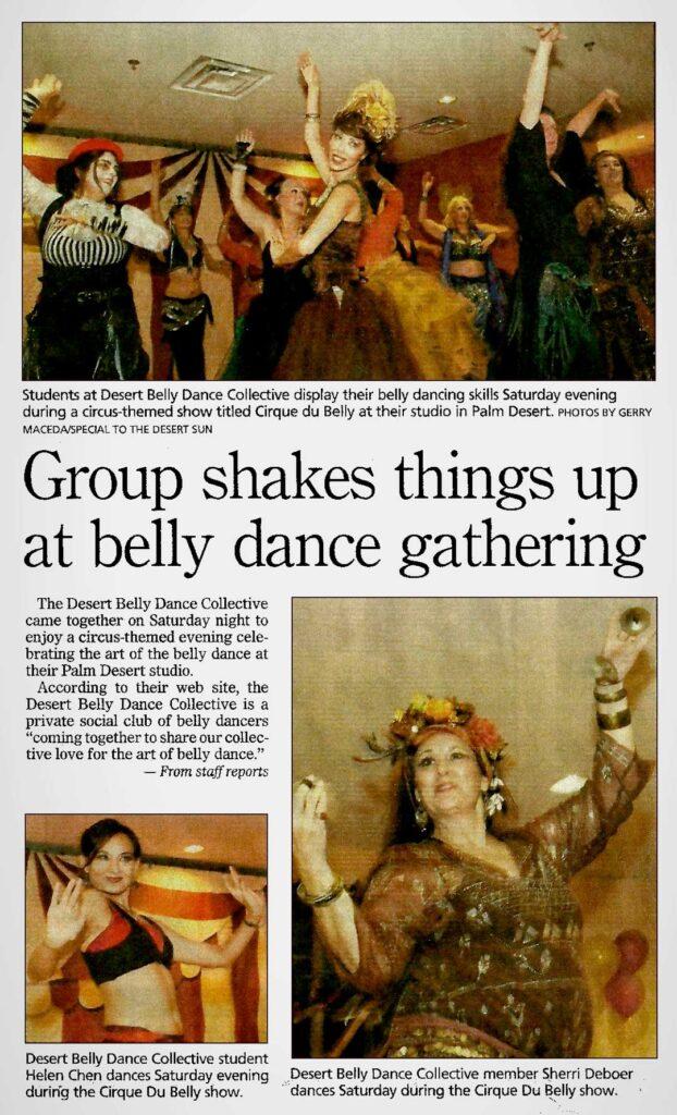 Desert Dance Collective – Cirque du Belly
