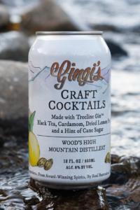 Gingi's Treeline Gin, Black Tea and Cardamom Cocktail