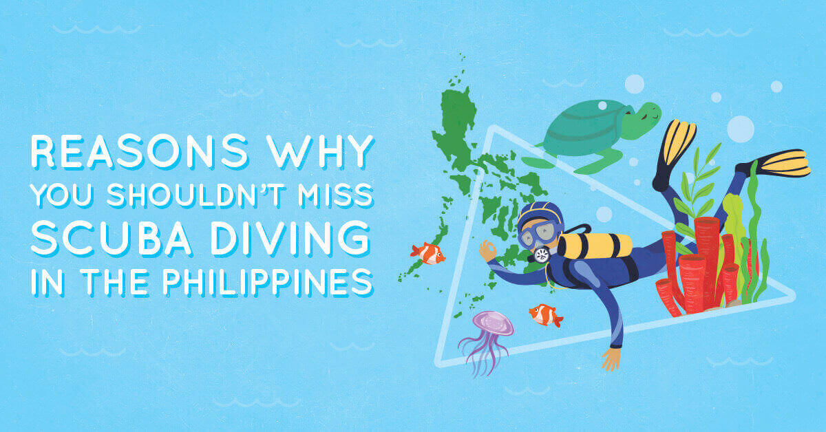 Do miss scuba diving in Philippines   Submariner Diving Center