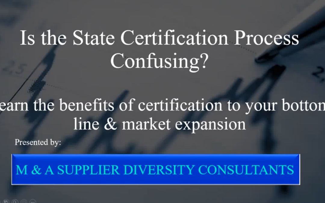Contracting: The Benefits of Supplier Diversity