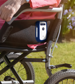 Sensatec fall management solution uses sensor pads for wheelchairs or beds
