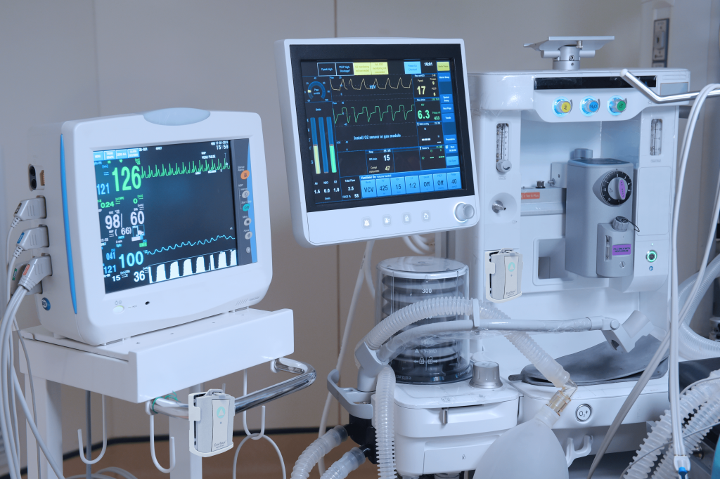 Exactrack equipment and asset tracking for hospitals