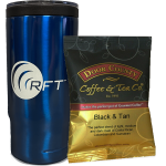 RFT Thermos and coffee for Request a Demo promotion