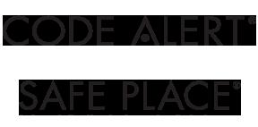 Code Alert and Safe Place logos