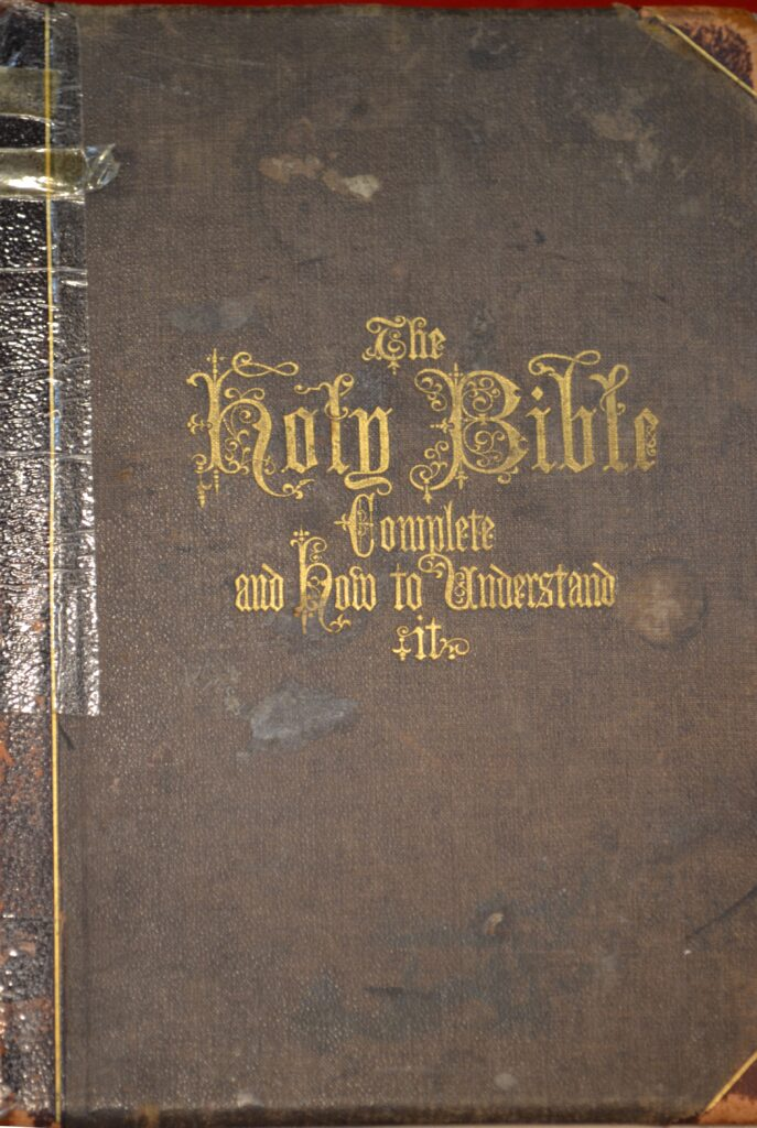 Pugh Family Bible. Click to open PDF.