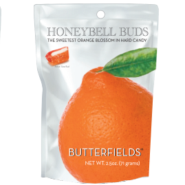 utterfields Old Fashioned Hard Candies by Butterfields Candy - Honeybell Buds orange blossom hard candy