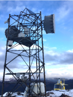 Summer weather tower