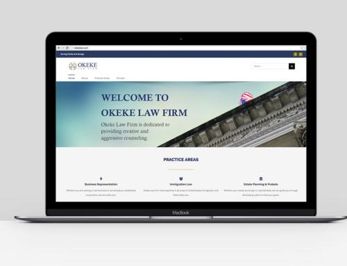 Okeke Law Firm Website