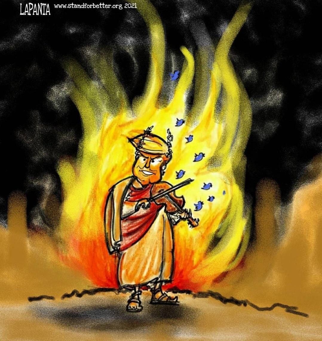 Rome Burns Under Trump