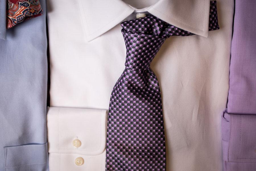 Furnishings & Accessories - purple tie