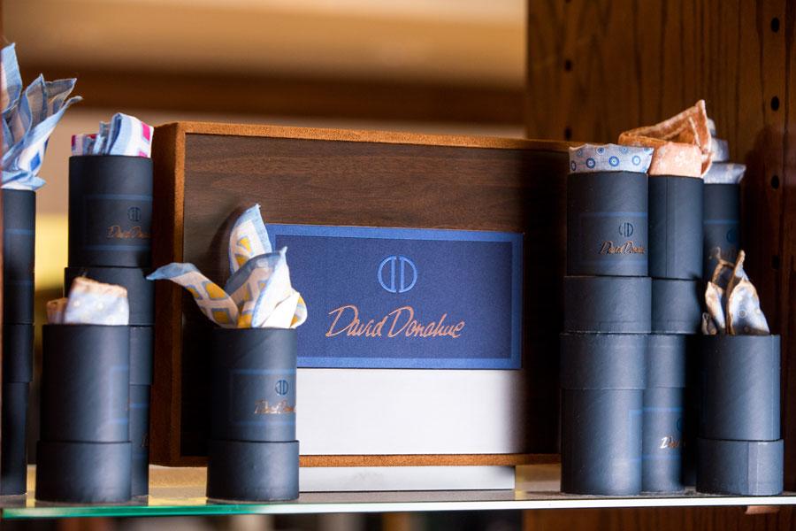 Furnishings & Accessories - box of ties on the shelf